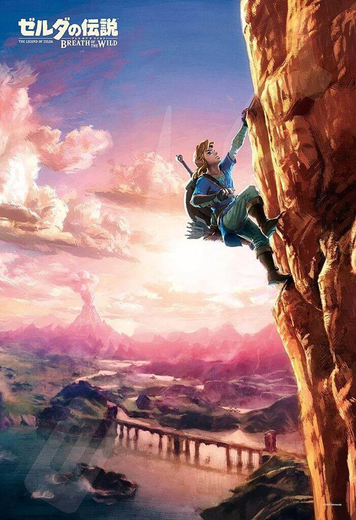 Ensky Jigsaw Puzzle 300-1194 The Legend of Zelda Breath of the Wild (300 Pieces)