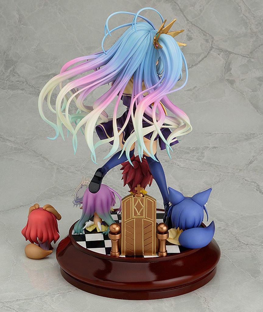 Phat! Shiro 1/7 Scale Action Figure (No Game No Life)