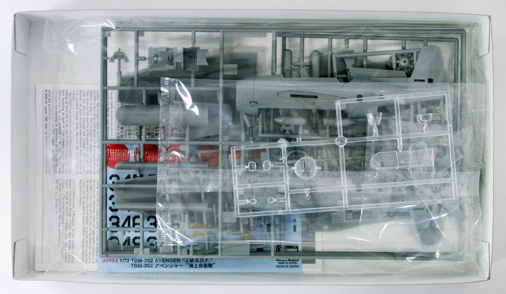 "Hasegawa 00984 TBM-3S2 Avenger ""JMSDF"" 1/72 scale kit"