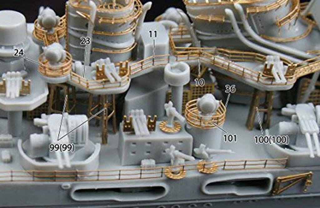Fujimi FHSP-23 IJN Japanese Heavy Cruiser Atago Full Hull Model DX 1/700 scale kit