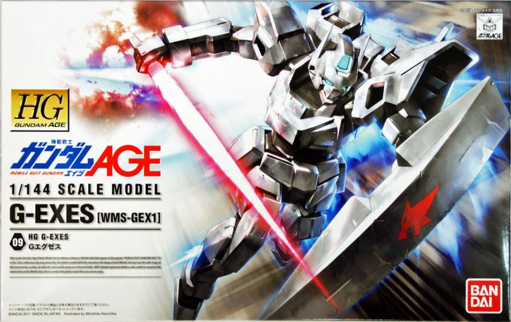 Bandai Gundam HG AGE-09 G-EXES (WMS-GEX1) 1/144 Scale Kit
