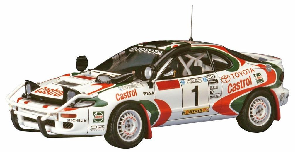 Hasegawa 20309 Toyota Celica Turbo 4WD 1993 Safaru Rakkt Winner 1/24 scale kit