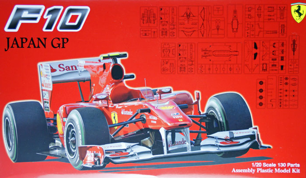 Fujimi GP32 090870 F1 Ferrari F10 Japan GP 1/20 Scale Kit