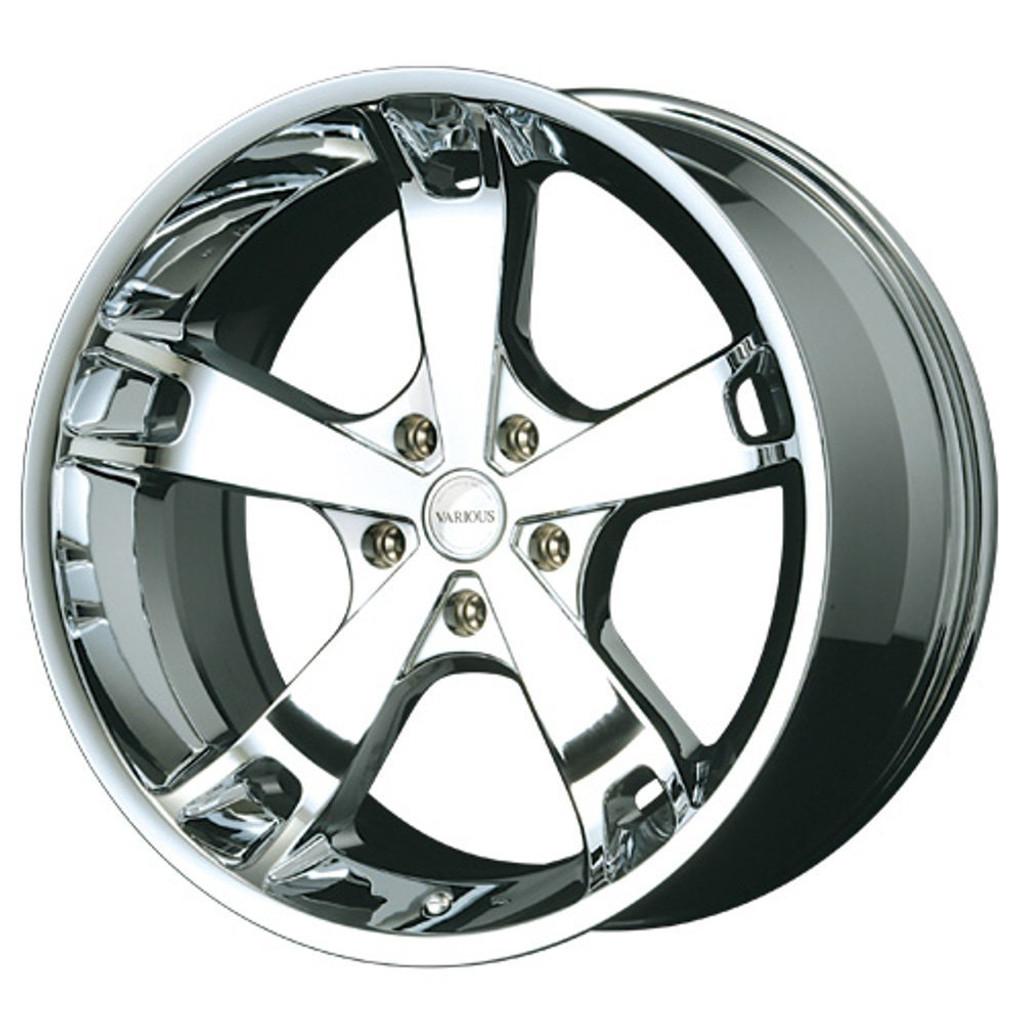 Aoshima 54253 Tuned Parts 61 1/24 FABULOUS VARIOUS MB-5 FACE-3 20 inch Tire & Wheel Set