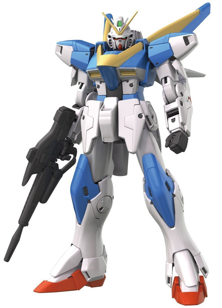 Bandai MG 222378 Gundam Victory Two (V2) Gundam VersionKa with Special Decal 1/100 Scale Kit