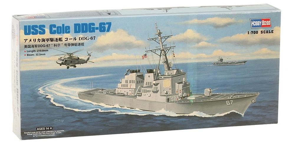 Doyusha 83410 USS Cole DDG-67 1/700 Scale Plastic Kit