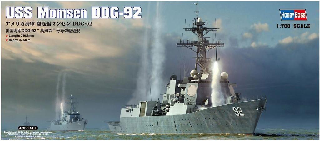 Doyusha 83413 USS Momsen DDG-92 1/700 Scale Plastic Kit