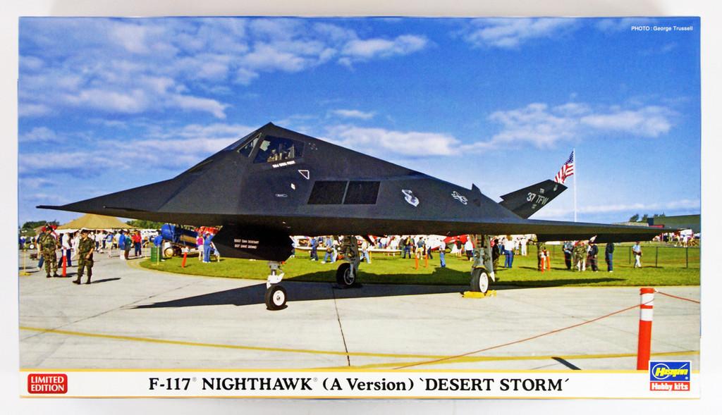 "Hasegawa 02256 F-117 Nighthawk (A Version) ""Desert Storm"" 1/72 scale kit"