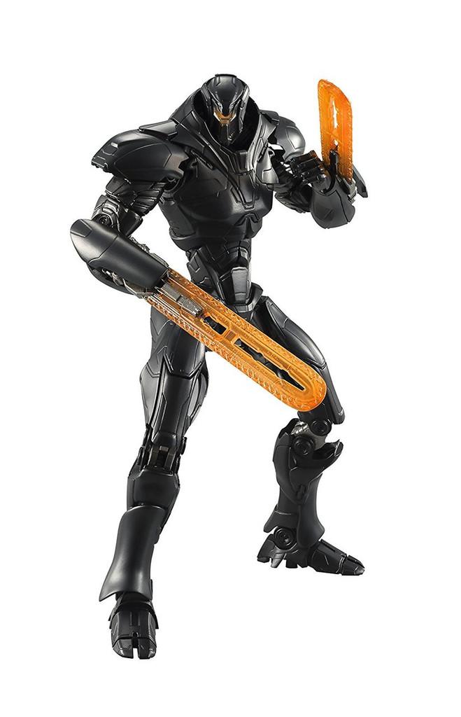 Bandai 208617 Robot Tamashii SIDE JAEGER Obsidian Fury Figure (Pacific Rim Uprising)