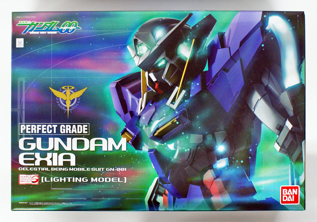 Bandai PG (Perfect Grade Gundam) 197737 Gundam Exia (Lighting Model) 1/60 Scale Kit