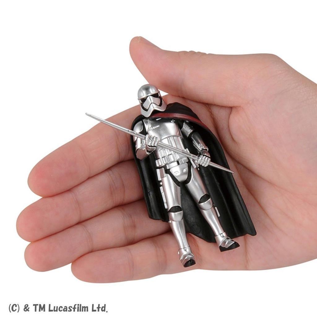 Takara Tomy Disney Star Wars Metakore Metal Figure #18 Captain Phasma The Last Jedi 960065