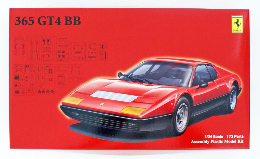 Fujimi RS-115 Ferrari 365GT4/BB 1/24 scale kit