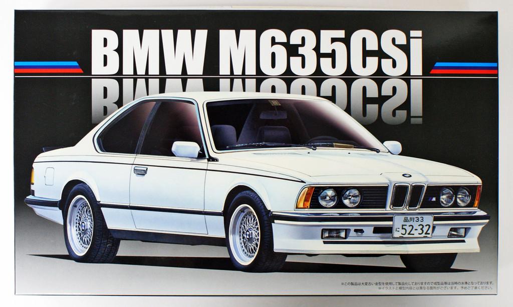 Fujimi RS-24 BMW M635CSi 1/24 scale kit