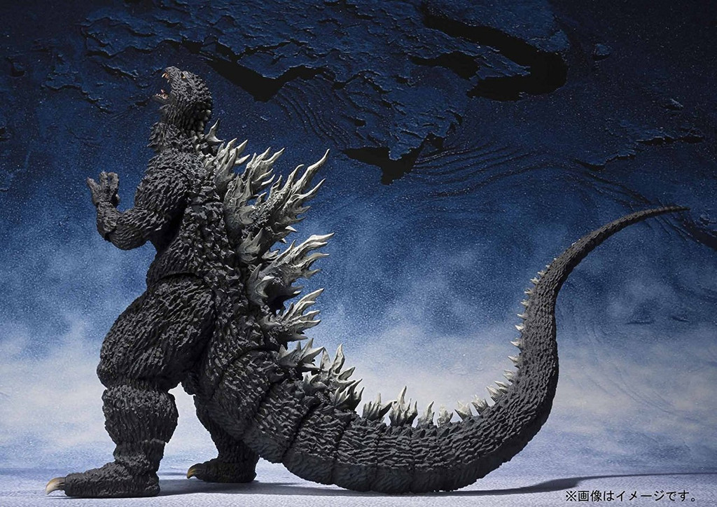 Bandai 225577 S.H. MonsterArts Godzilla (2002) Figure