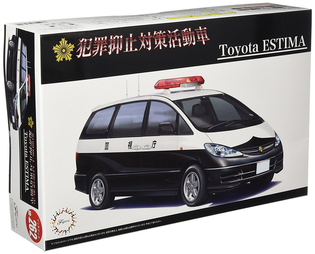 Fujimi ID-262 Toyota Estima Patrol Car 1/24 scale kit