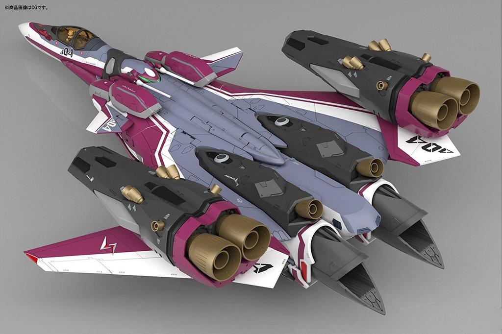 Bandai 195979 Macross Delta VF-31C Super Siegfried (Mirage Farina Jenius Use) 1/72 Scale Kit