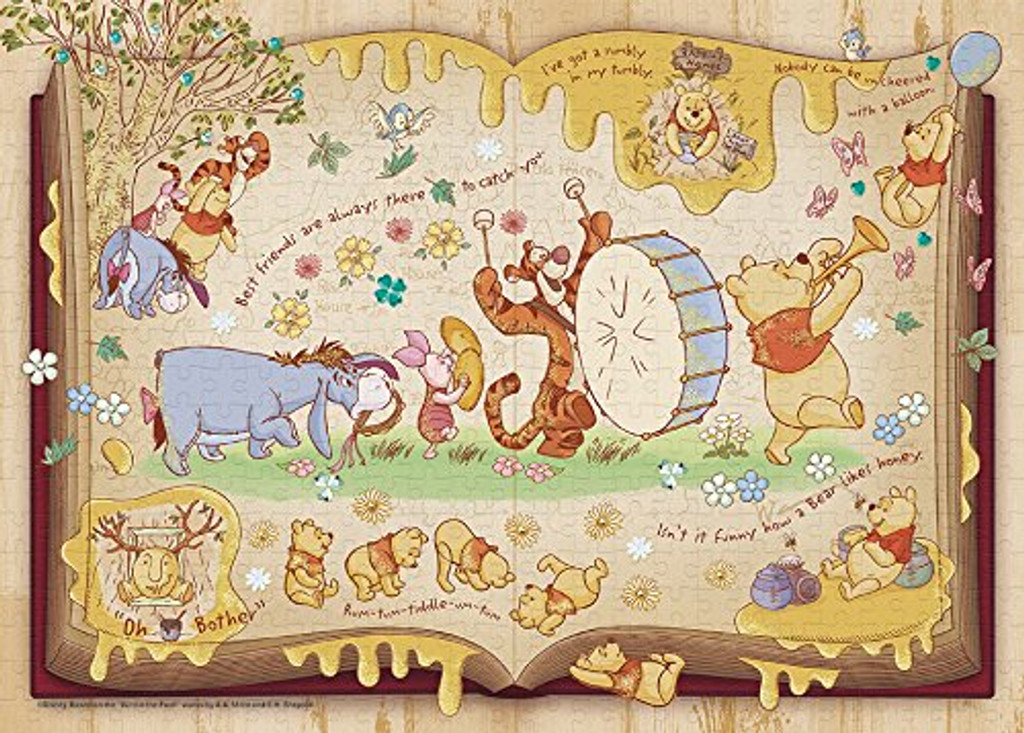 Epoch Jigsaw Puzzle Decoration 74-003 Disney Winnie the Pooh (500 Pieces)