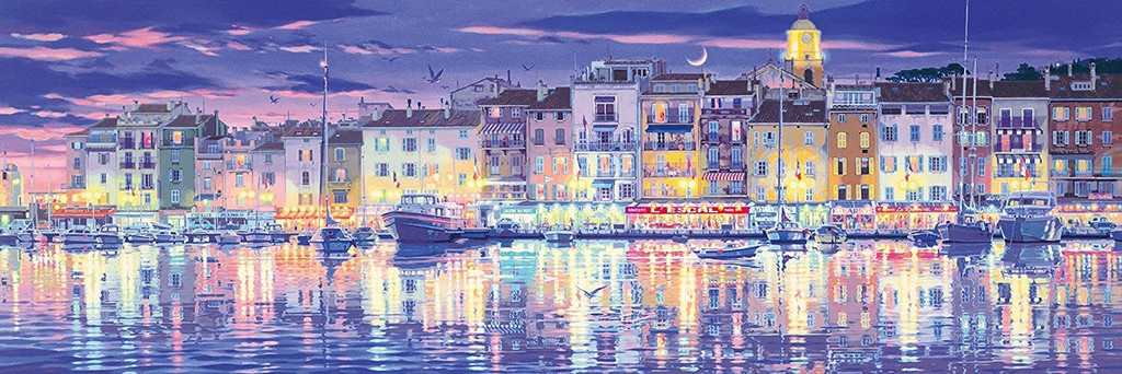 Epoch Jigsaw Puzzle 18-703 Teppei Sasakura Saint-Tropez France (1518 S-Pieces)
