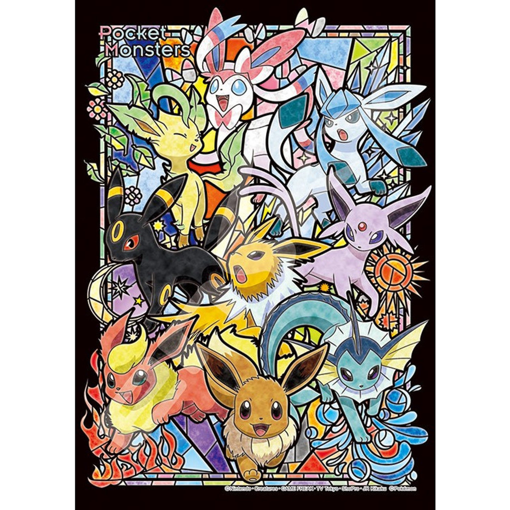 Ensky Art Crystal Jigsaw Puzzle 208-AC51 Pokemon Eevee (Eievui) Evolutions (208 Pieces)