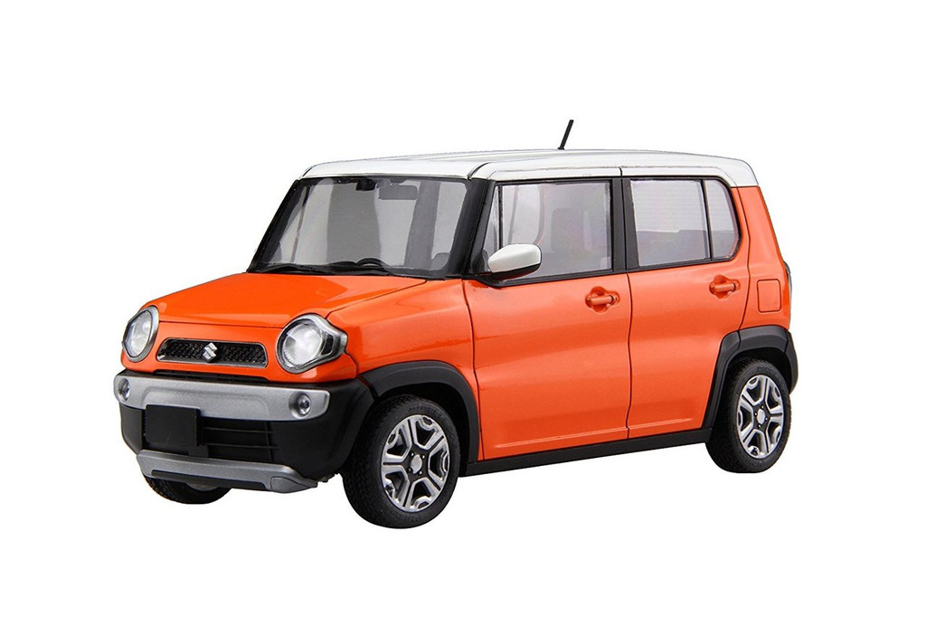 Fujimi 066011 Suzuki Hustler (Passion Orange) 1/24 scale kit
