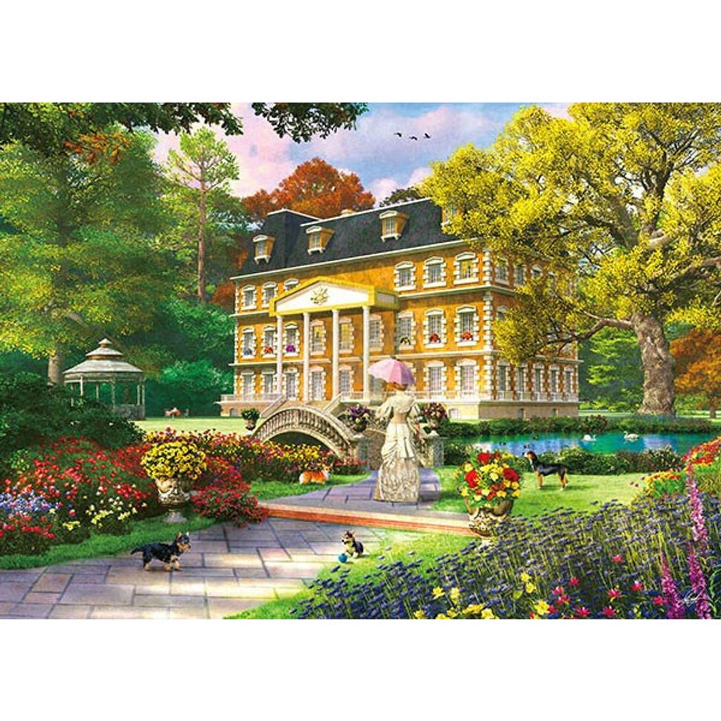 APPLEONE Jigsaw Puzzle 500-246 Dominic Davison Royal Garden (500 Pieces)