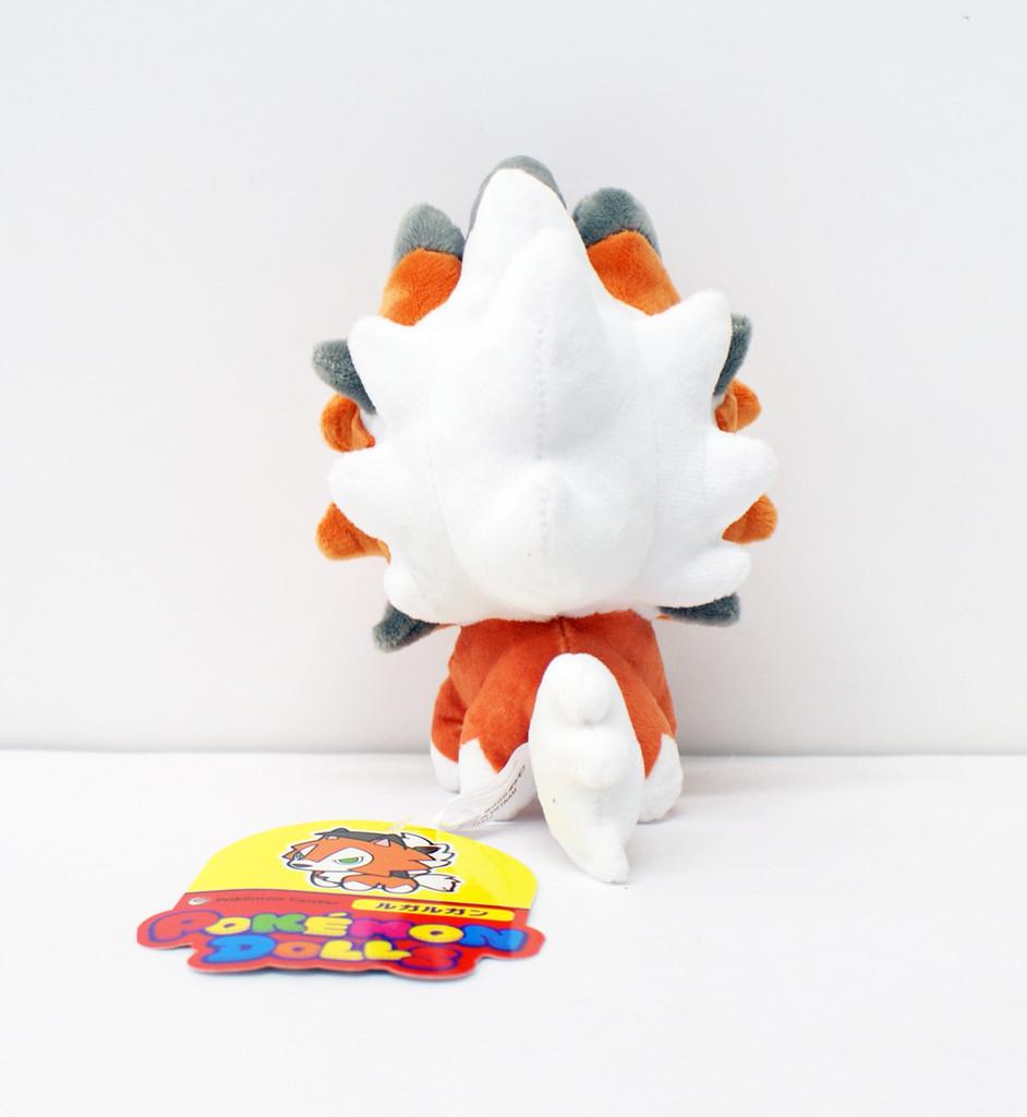 Pokemon Center Original Plush Doll Pokemon Dolls Lycanroc Dusk Form 11-232553