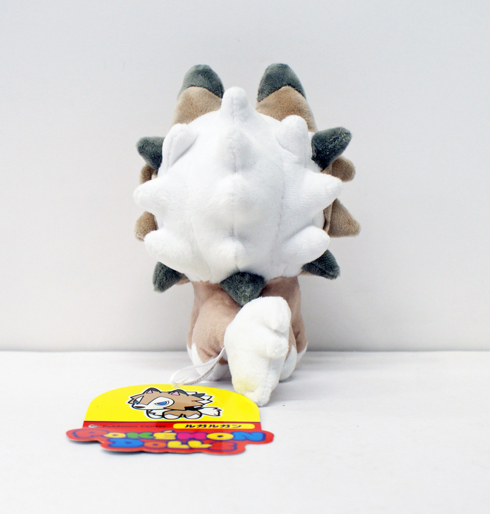 Pokemon Center Original Plush Doll Pokemon Dolls Lycanroc Midday Form 11-232539