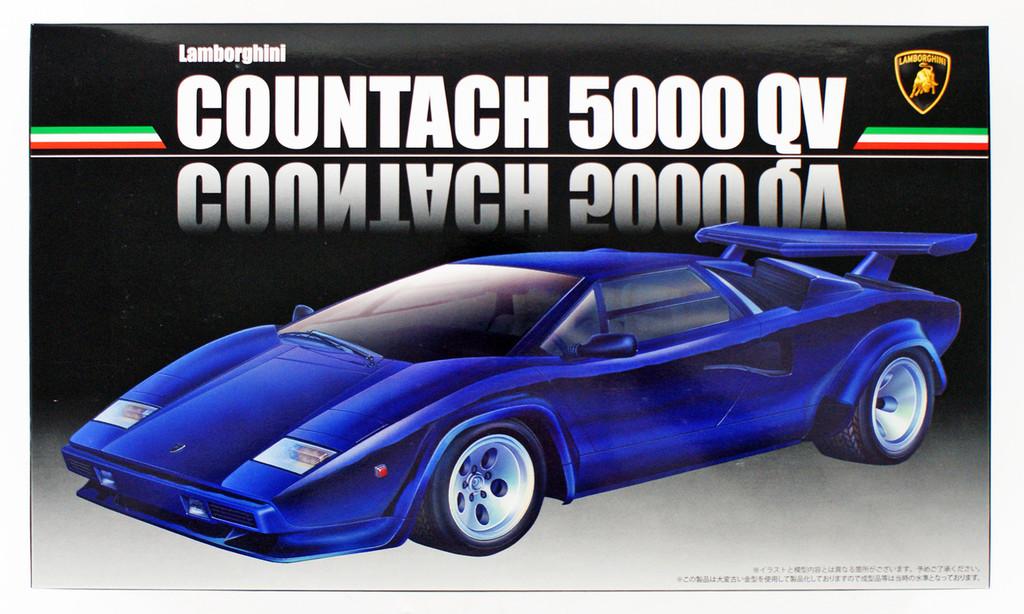 Fujimi RS-11 Lamborghini Countach 5000 Quattrovalvole 1/24 scale kit