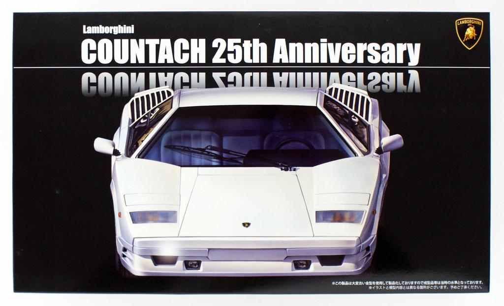 Fujimi RS-60 Lamborghini Countach 25th Anniversary 1/24 scale kit