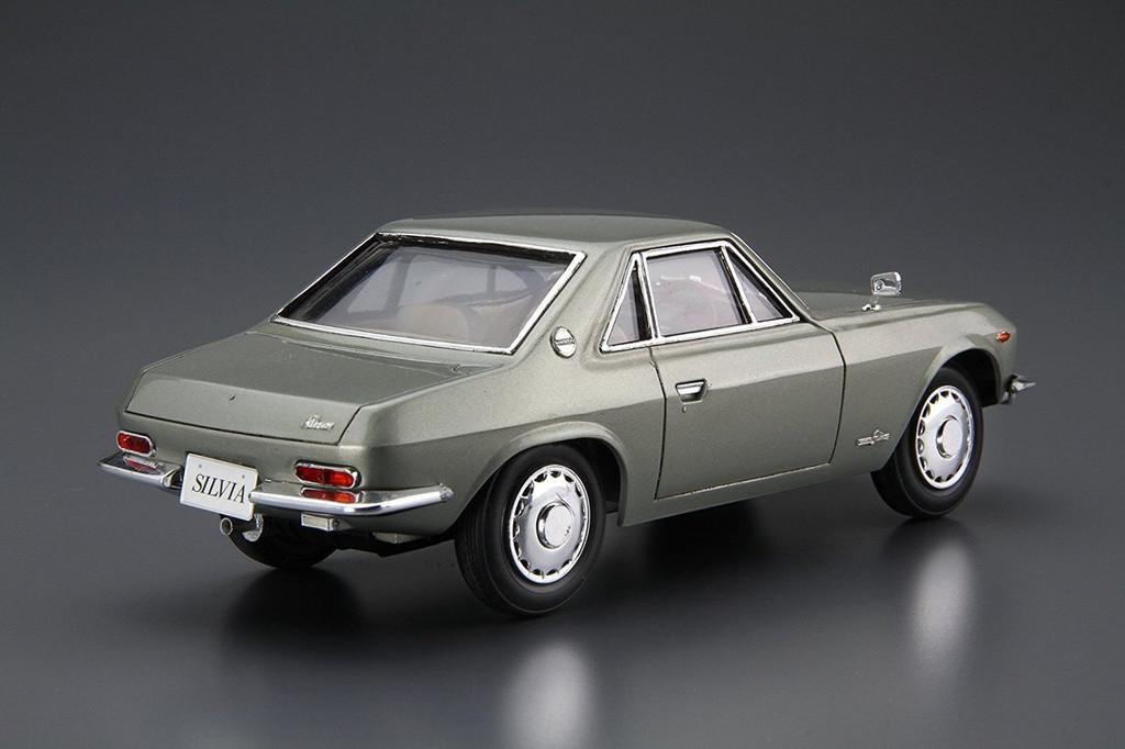 Aoshima 55502 The Model Car 66 Nissan CSP311 Silvia 1966 1/24 scale kit