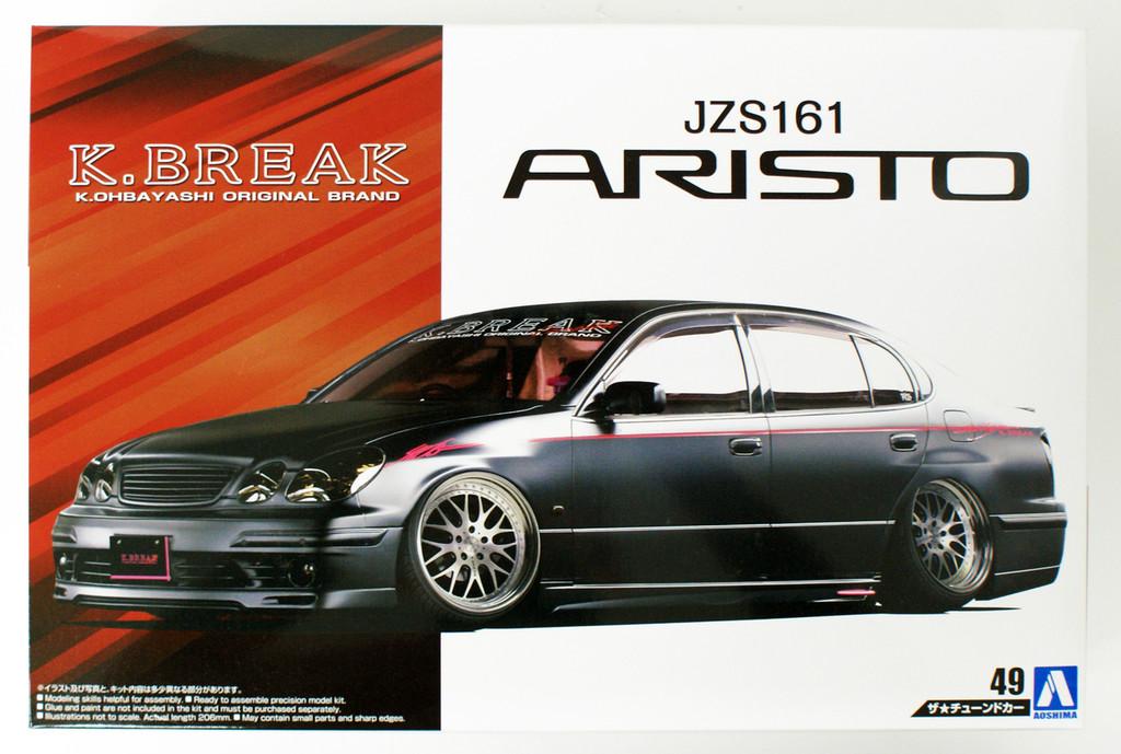 Aoshima 55410 Toyota K-Break Platinum JZS161 ARISTO 2000 1/24 scale kit