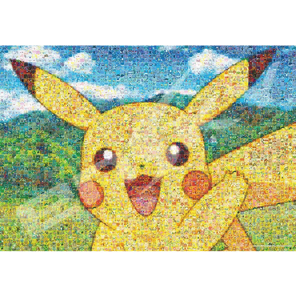 Ensky Jigsaw Puzzle 500T-L17 Pokemon Mosaic Art Reversible Pikachu (500 L-Pieces)