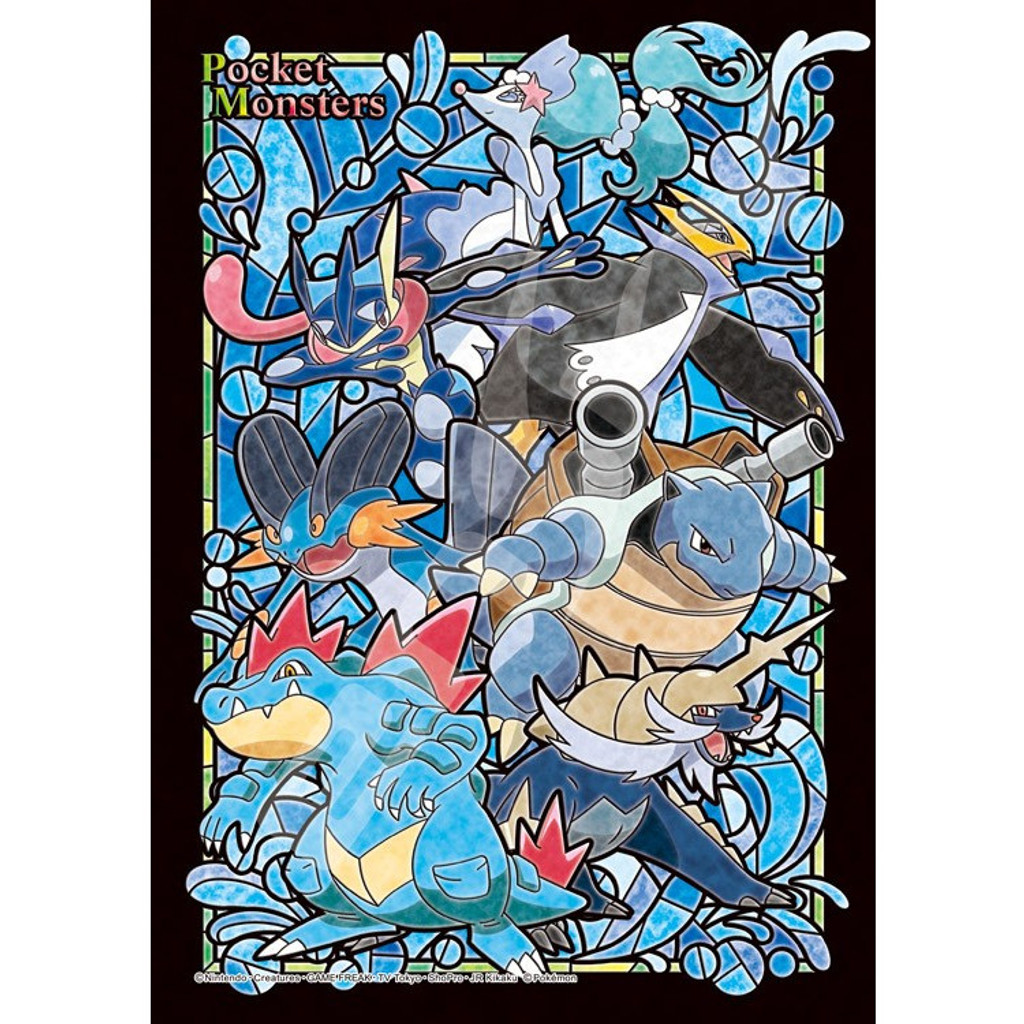 Ensky Art Crystal Jigsaw Puzzle 208-AC53 Pokemon Type Water (208 Pieces)