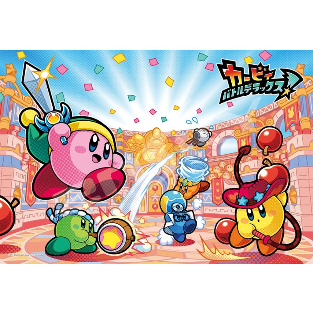 Ensky Jigsaw Puzzle 300-1326 Kirby Battle Deluxe (300 Pieces)