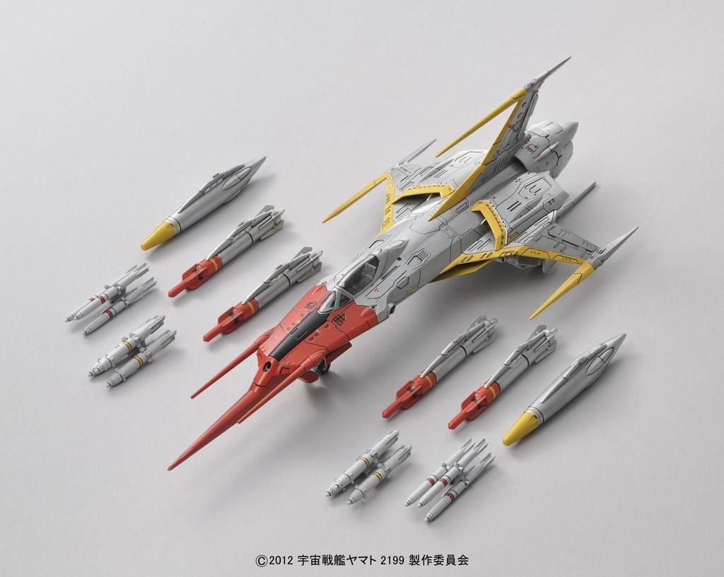 Bandai 813398 Yamato 2199 Cosmo Zero Alpha 1 1/72 Scale Kit