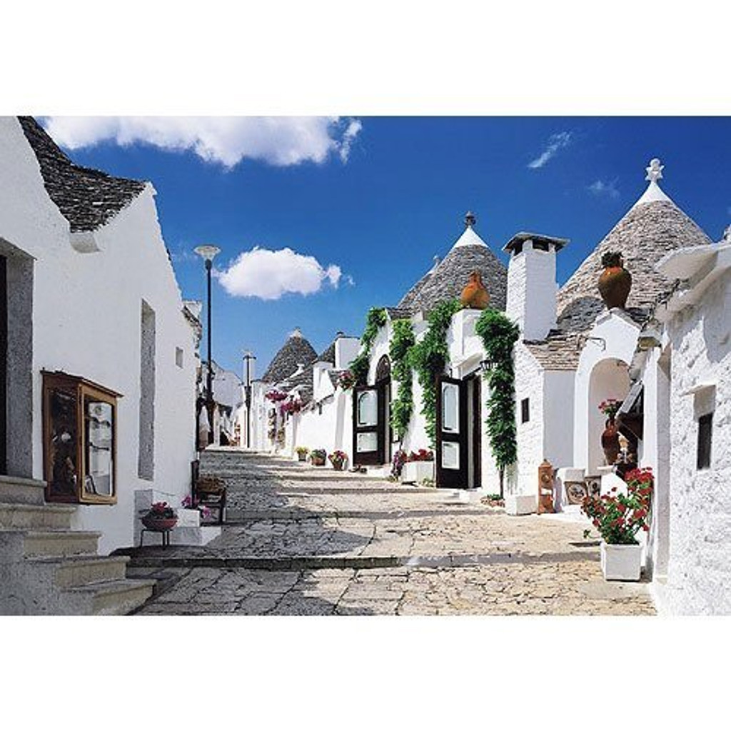 Epoch Jigsaw Puzzle 08-017 The Trulli of Alberobello Italy (450 S-Pieces)