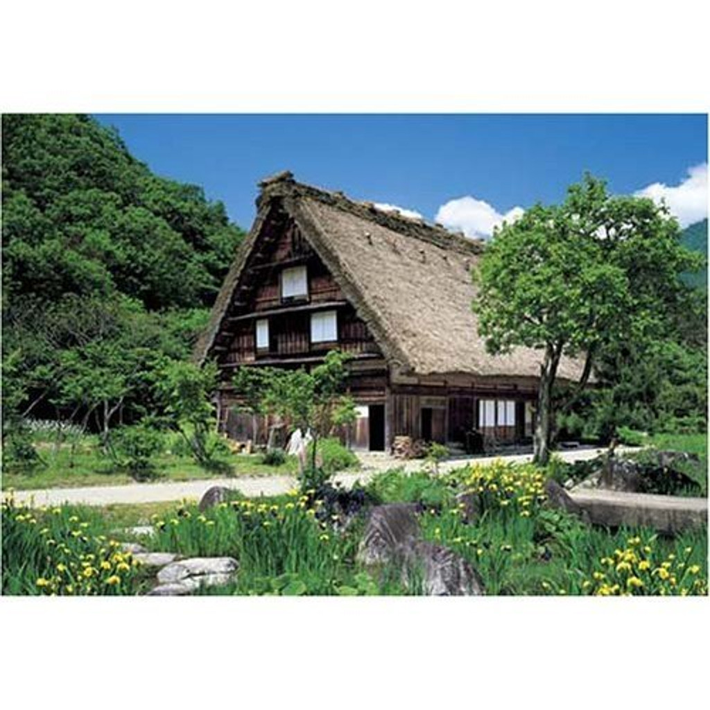 Epoch Jigsaw Puzzle 08-502 Shirakawa-go Japan (450 S-Pieces)