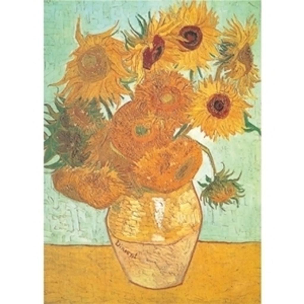 Epoch Jigsaw Puzzle 10-568 Sunflowers Vincent van Gogh (1000 Pieces)