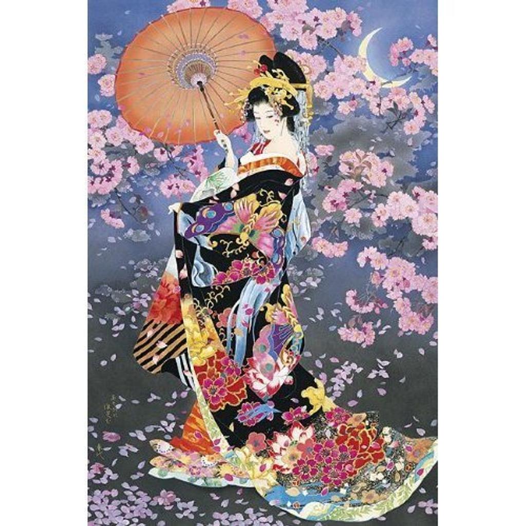 Epoch Jigsaw Puzzle 11-322 Japanese Art Kimono (1000 Pieces)
