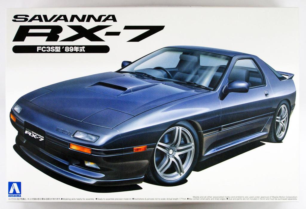 Aoshima 46609 Mazda Savanna RX-7 (FC3S) 1989 1/24 scale kit