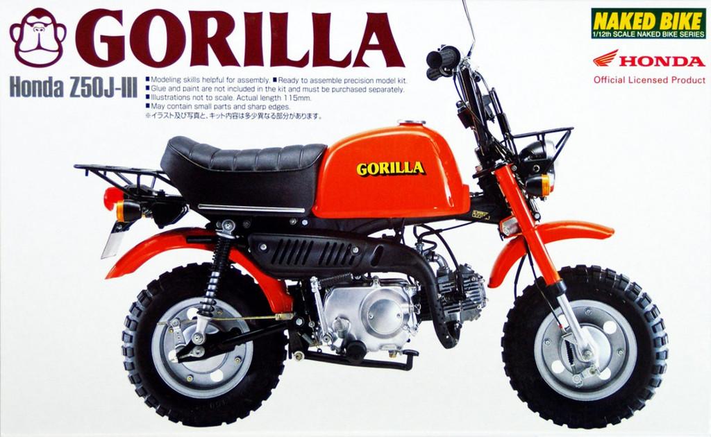 Aoshima Naked Bike 20 48788 Honda Gorilla 1/12 Scale Kit
