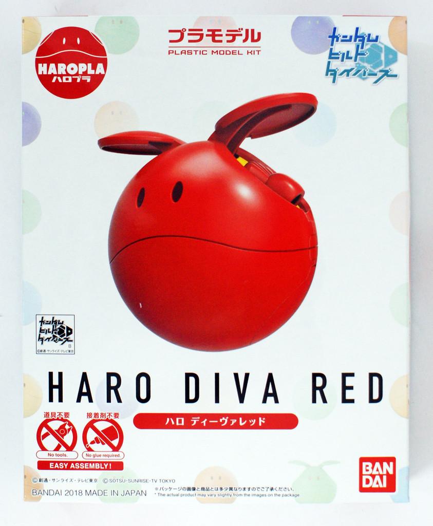 Bandai Haro Pla 02 Haro Diva Red Plastic Model Kit 283751