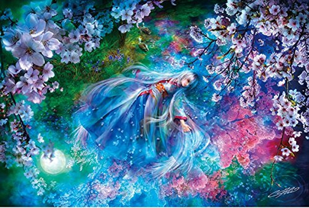 APPLEONE Jigsaw Puzzle 1000-822 SHU Asaki Yumemishi Cherry Blossom (1000 Pieces)