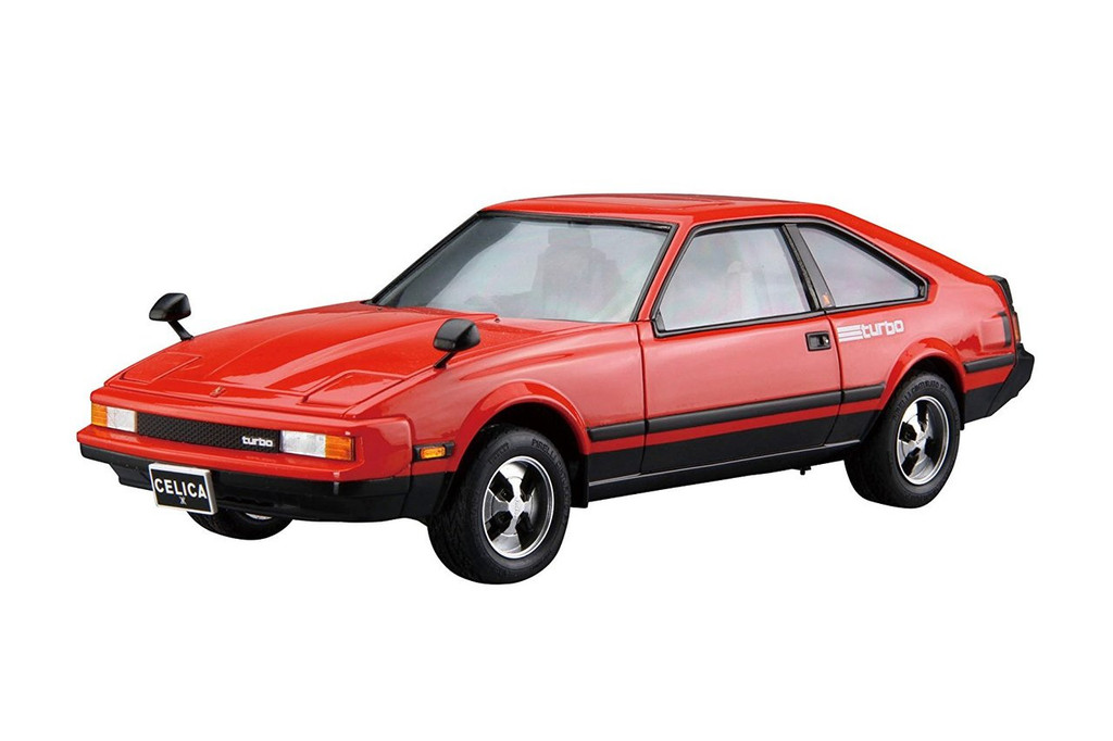 Aoshima 56134 The Model Car 82 Toyota MA61 Celica XX 2800GT 1982 1/24 scale kit