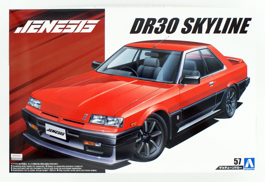 Aoshima 55793 Genesis Auto DR30 Skyline 1984 (NISSAN) 1/24 scale kit
