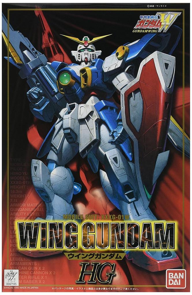 Bandai Gundam XXXG-01W Wing Gundam 1/100 Scale Kit
