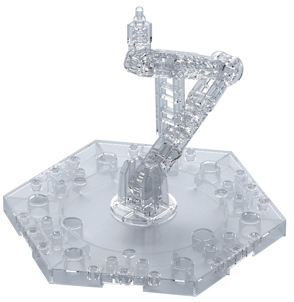 andai Action Base 5 Clear for 1/144 Scale Kit