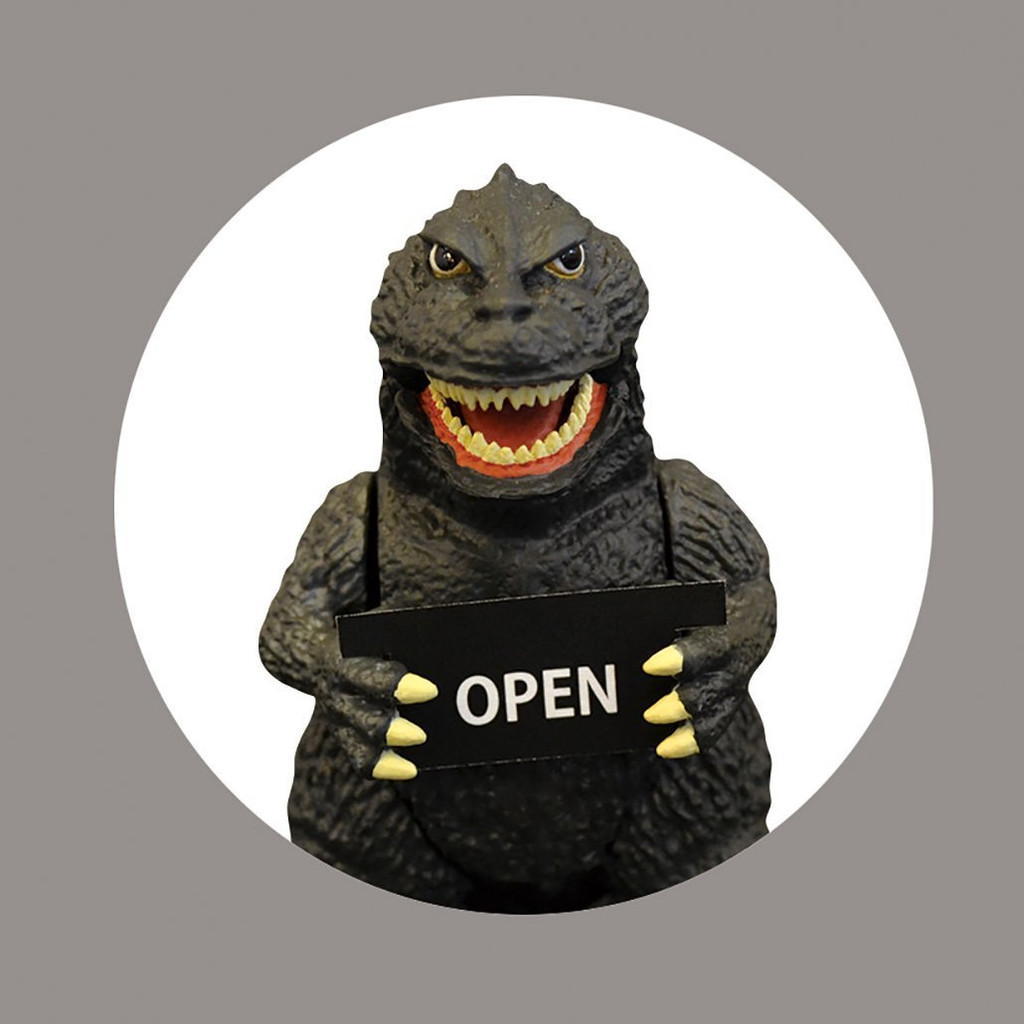 Folcart 509463 Godzilla Solar Mascot (Message Plate Included)