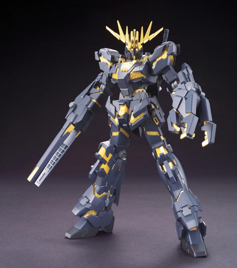 Bandai HGUC 134 Gundam RX-0 Unicorn Gundam 02 Banshee (Destroy Mode) 1/144 Scale Kit