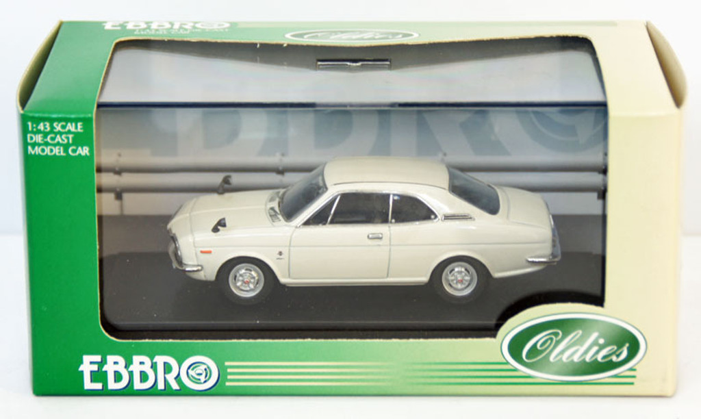 Ebbro 43414 Honda Coupe 9S 1970 (Air Cooled) (White) 1/43 Scale